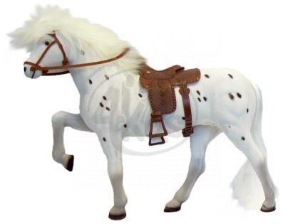 Kůň bílý 30cm