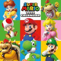 Kalendář 2022 Super Mario