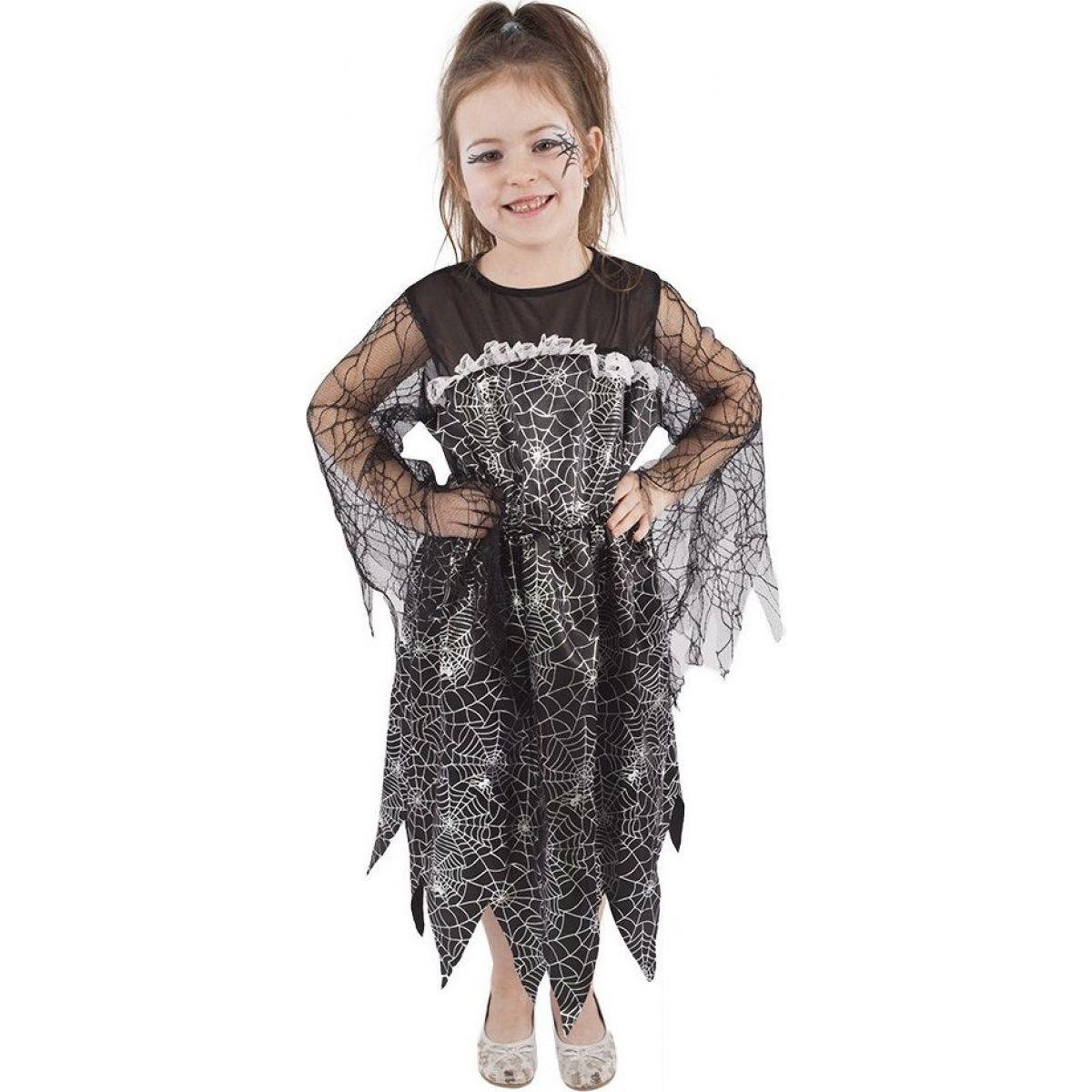 Rappa Karnevalový kostým čarodějnice halloween vel. M