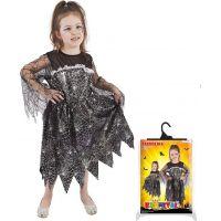 Rappa Karnevalový kostým čarodějnice halloween vel. M 3
