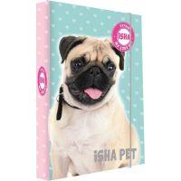 Karton P+P Box na sešity A5 Isha My love Pet