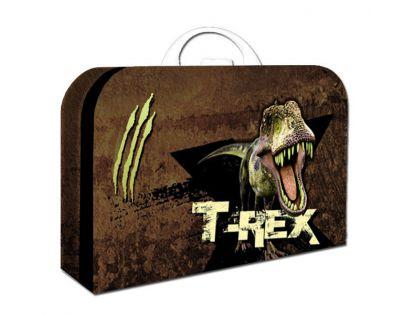 Karton P+P Kufřík Dinosaurus 34cm