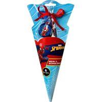 Karton P+P Školní kornout s dárky 6 ks Spider-Man