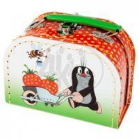 Kazeto 767-9048/016/8851 - Šitý kufřík  Krtek a jahody 16cm