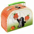 Kazeto 767-9048/016/8851 - Šitý kufřík  Krtek a jahody 16cm 2