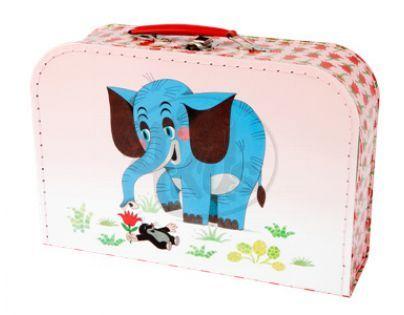 Kazeto 767-9048/030/8850 - Šitý kufřík  Krtek a slon  30cm