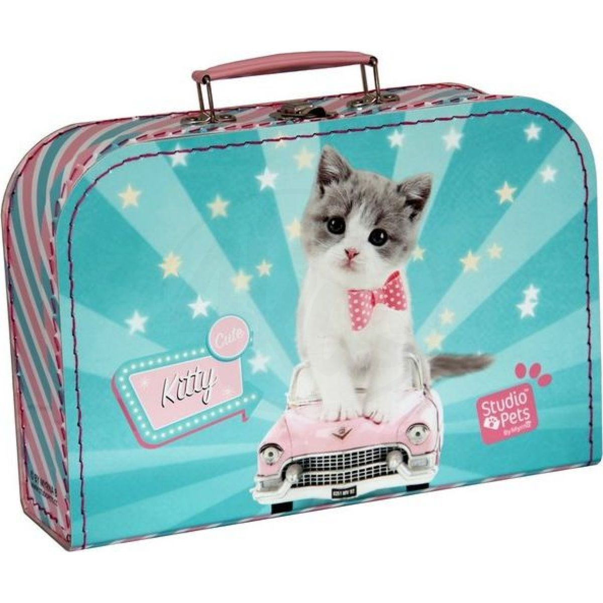 Kazeto Kufřík Kočička Kitty Cute 30 cm