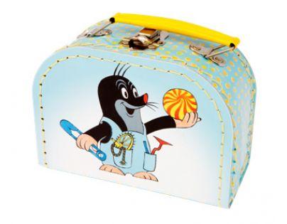 Kazeto 767-9048/016/8861 - Šitý kufřík  Krtek a kalhotky 16cm