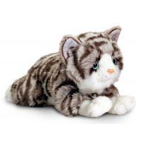 Keel Ležící kočička 25 cm mouravaná