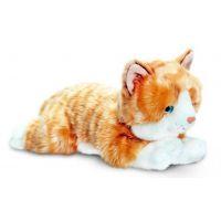 Keel Ležící kočička 25 cm zrzavá