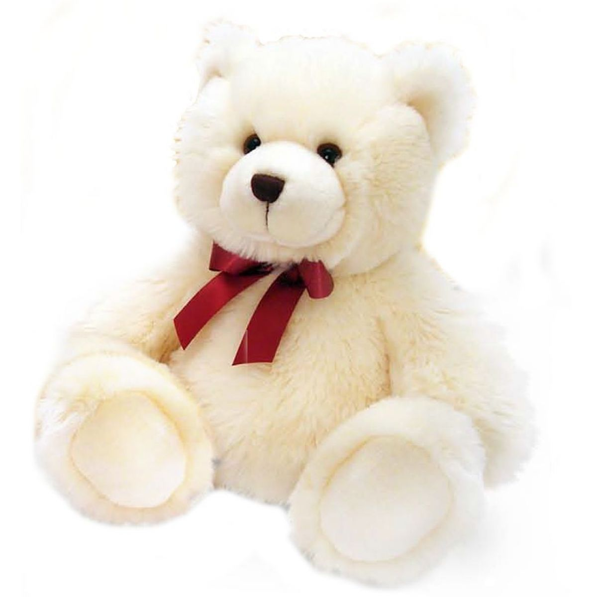 Keel Medvídek Harry 35 cm bílý