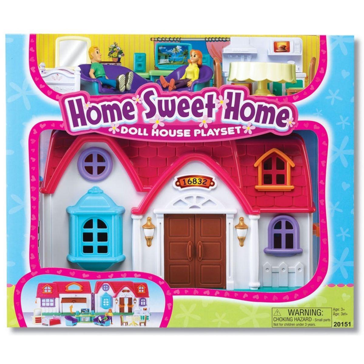 Keenway Sada domek pro panenky