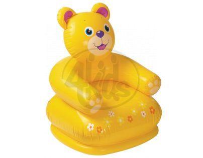 Intex 68556 Křeslo nafukovací zvířátko - Medvěd