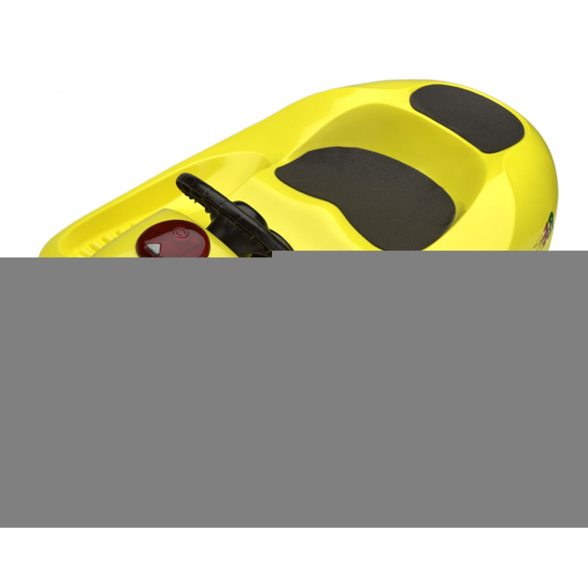 KHW Boby Snow Car 4x4 de Luxe žluté