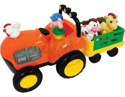 Kiddieland Farmářský traktor pro nejmenší