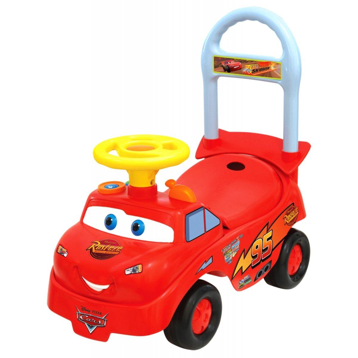Kiddieland 034769 - Odstrkovadlo Cars McQueen se zvuky