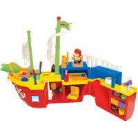 Kiddieland Pirátská loď s aktivitami