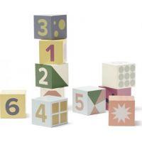 Kids Concept Kostky dřevěné Edvin 10 ks