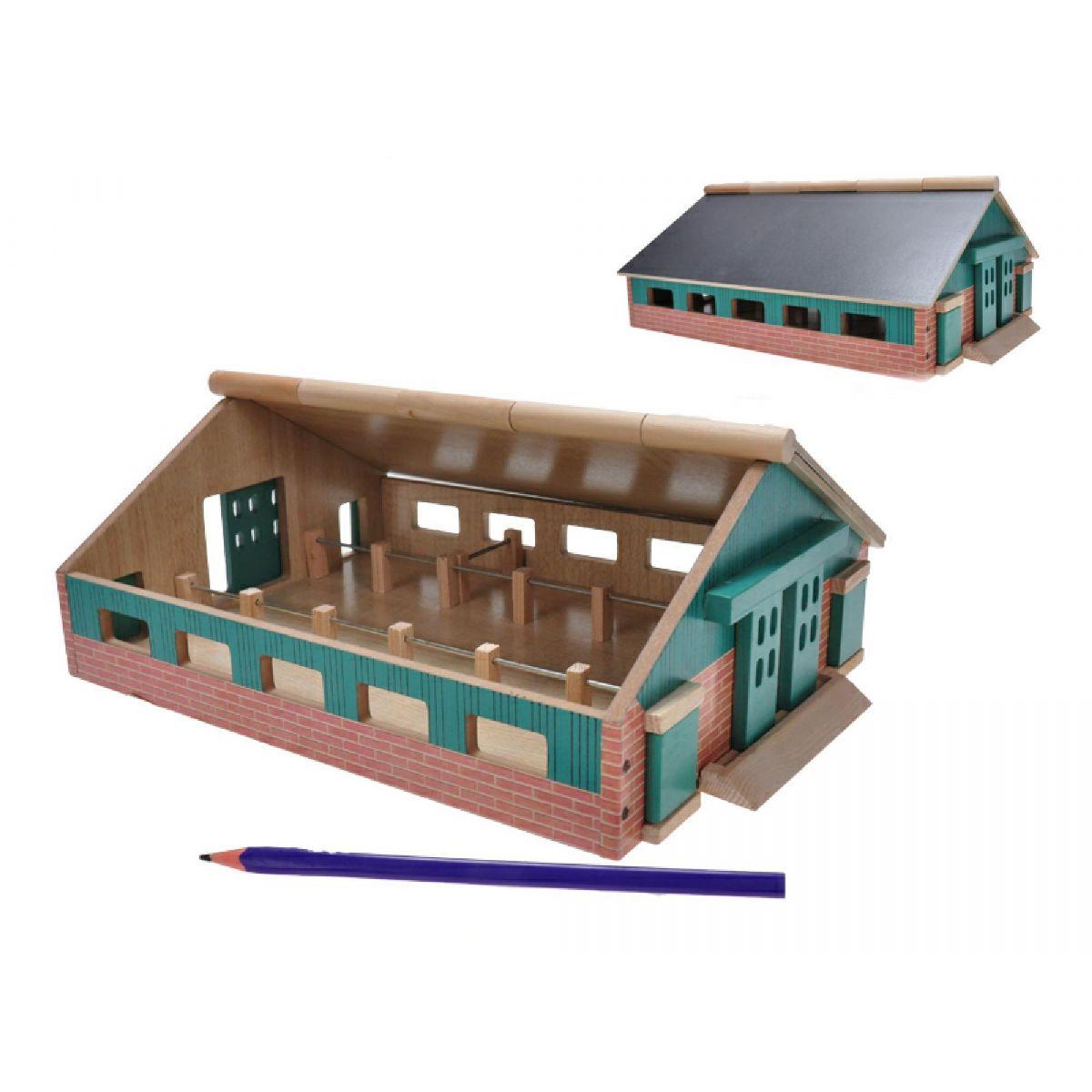 Farma dřevěná 212x30x112cm 1:87