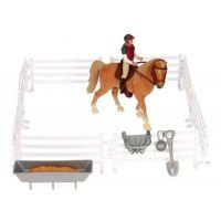Kids Globe Hrací sada Jezdkyně s koněm