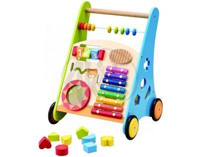 KidsHome Dětské dřevěné chodítko (02062)