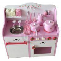 KidsHome Dětská kuchyňka s příslušenstvím 60 cm (02052) 2