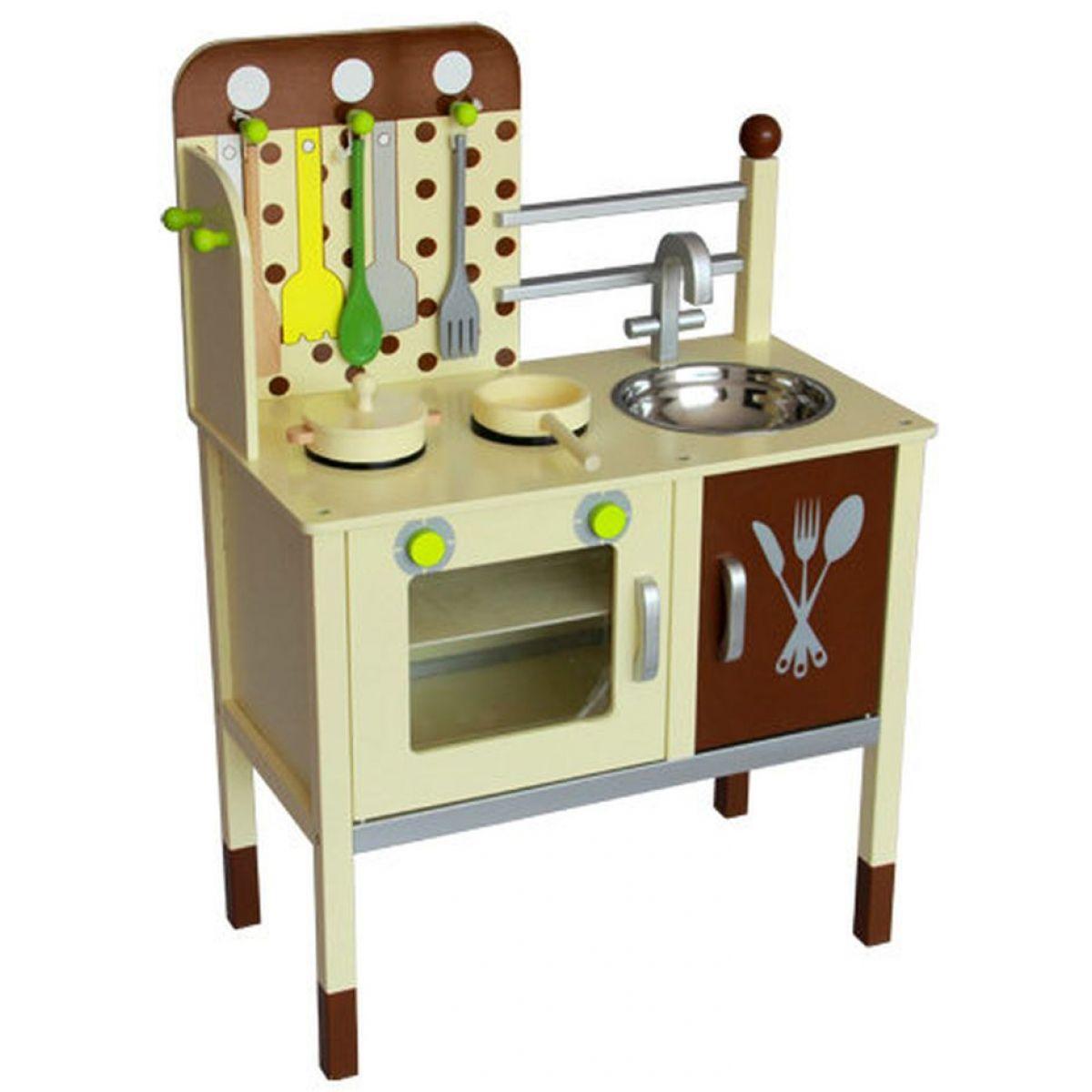 KidsHome Dětská kuchyňka s příslušenstvím 79 cm (02055)
