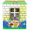 KidsHome Vymalovávácí domek 84x89x115cm 2