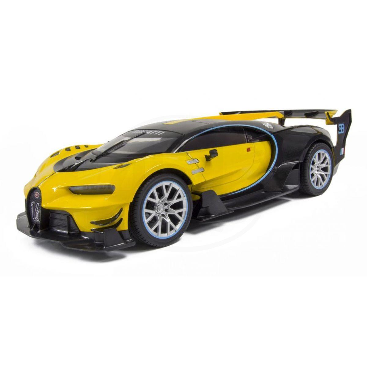 Kidztech RC auto Bugatti Vision GT 1:16 žlutočerná