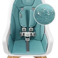 Kinderkraft Židlička jídelní 2v1 Tixi Grey 5
