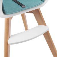 Kinderkraft Židlička jídelní 2v1 Tixi Turquoise 6
