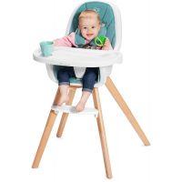 Kinderkraft Židlička jídelní 2v1 Tixi Turquoise 3