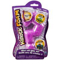Kinetic sand Kinetic Foam 1 barva - Fialová