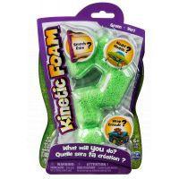 Kinetic sand Kinetic Foam 1 barva - Zelená