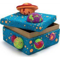 Kinetic Sand Kinetic Foam 3 barvy - Červená, modrá, zelená 2