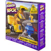 Kinetic Rock Stavební sada se strojem 340 g