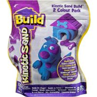 Kinetic Sand 2 barvy v balení - Modrá a fialová