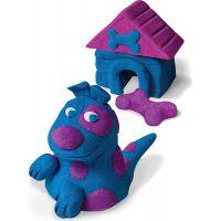 Kinetic Sand 2 barvy v balení - Modrá a fialová 2