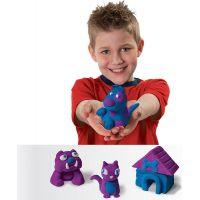 Kinetic Sand 2 barvy v balení - Modrá a fialová 3