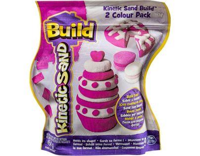 Kinetic Sand 2 barvy v balení - Růžová a bílá