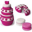 Kinetic Sand 2 barvy v balení - Růžová a bílá 2
