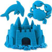 Kinetic Sand Balení barevných písků 0,9Kg modrý 4