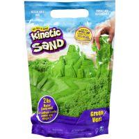 Kinetic Sand Balení barevných písků 0,9 kg zelený