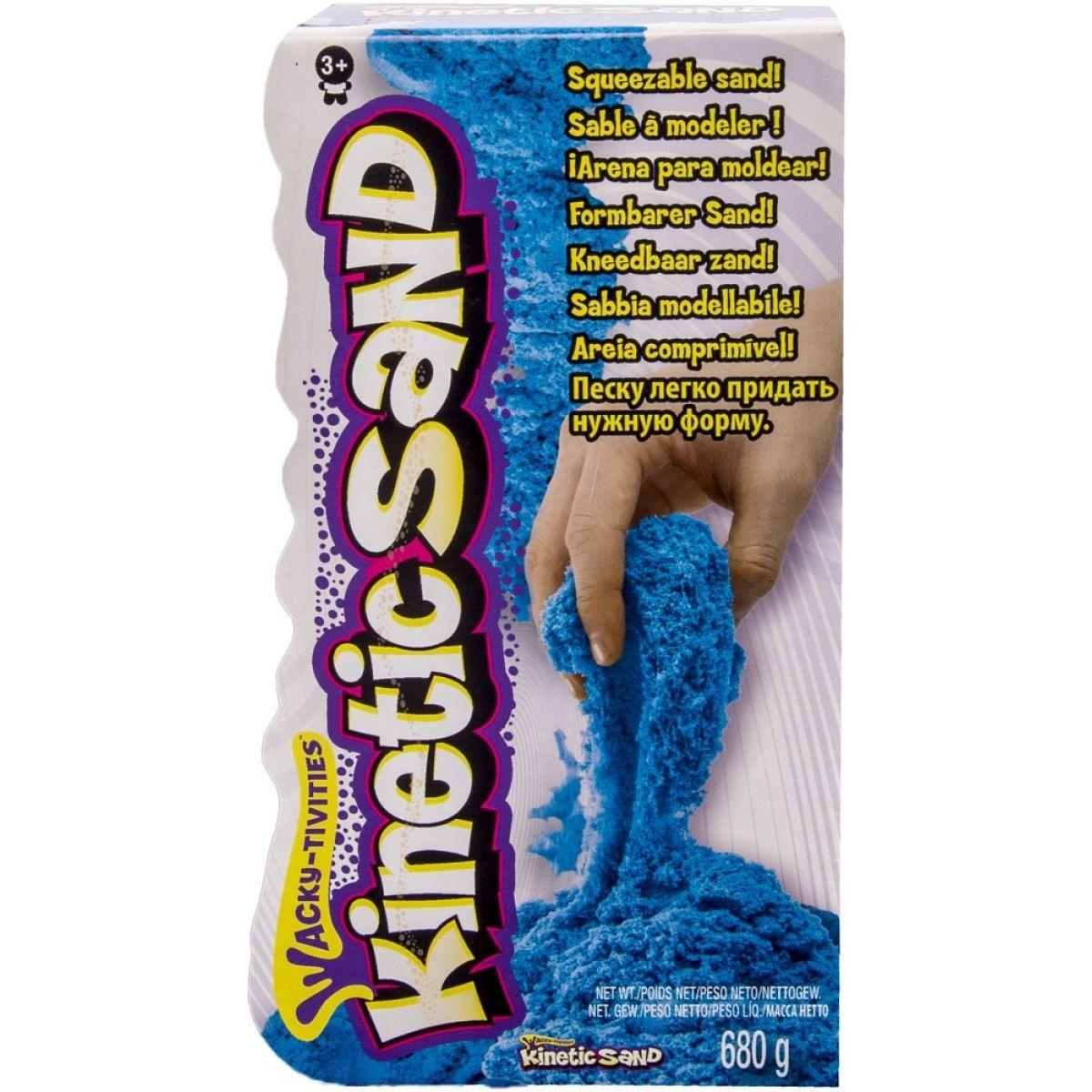 Kinetic Sand Barevný písek 680g - Modrá