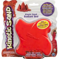 Kinetic Sand Bright&Bold - Červená 2