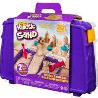 Kinetic Sand Cestovní kufřík s formičkami 4