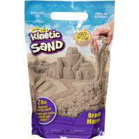 Kinetic Sand hnědý písek 0,9 kg