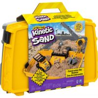 Kinetic Sand kufor pre stavbárov