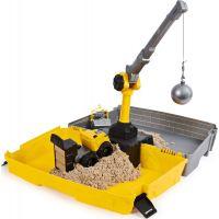 Kinetic Sand kufr pro stavaře 3