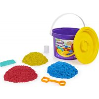 Kinetic Sand kýblik s náčiním a pieskom
